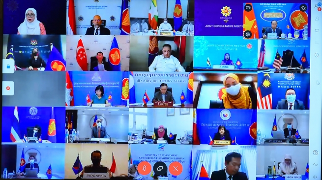 Khai mạc Hội nghị tham vấn chung ASEAN