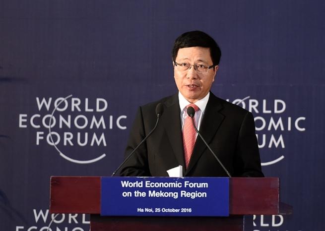 Phó Thủ tướng Phạm Bình Minh dự Hội nghị Thượng đỉnh về phát triển bền vững năm 2021