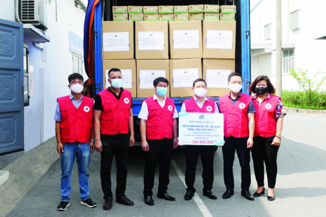 Garment 10 Corp. Making Active Response to Pandemic