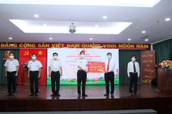 """Tổng Công ty Tân cảng Sài Gòn  ủng hộ 50 tỷ đồng cho """"Quỹ Vắc xin phòng, chống Covid-19"""" của Chính phủ"""
